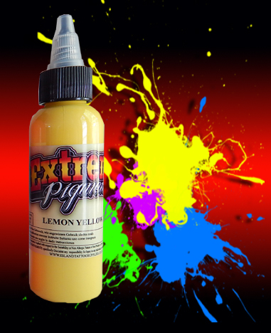 2oz/60ml Extreme Lemon Yellow