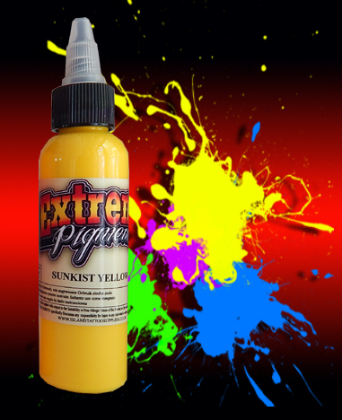 2oz/60ml Extreme Sunkist Yellow