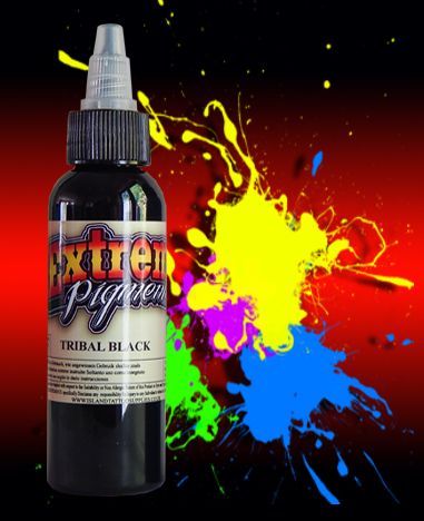 25ml Extreme Tribal Black